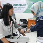 Tes Kesehatan (Medical Check-Up) Siswa Siswi FAAST Penerbangan Kelas November 2019