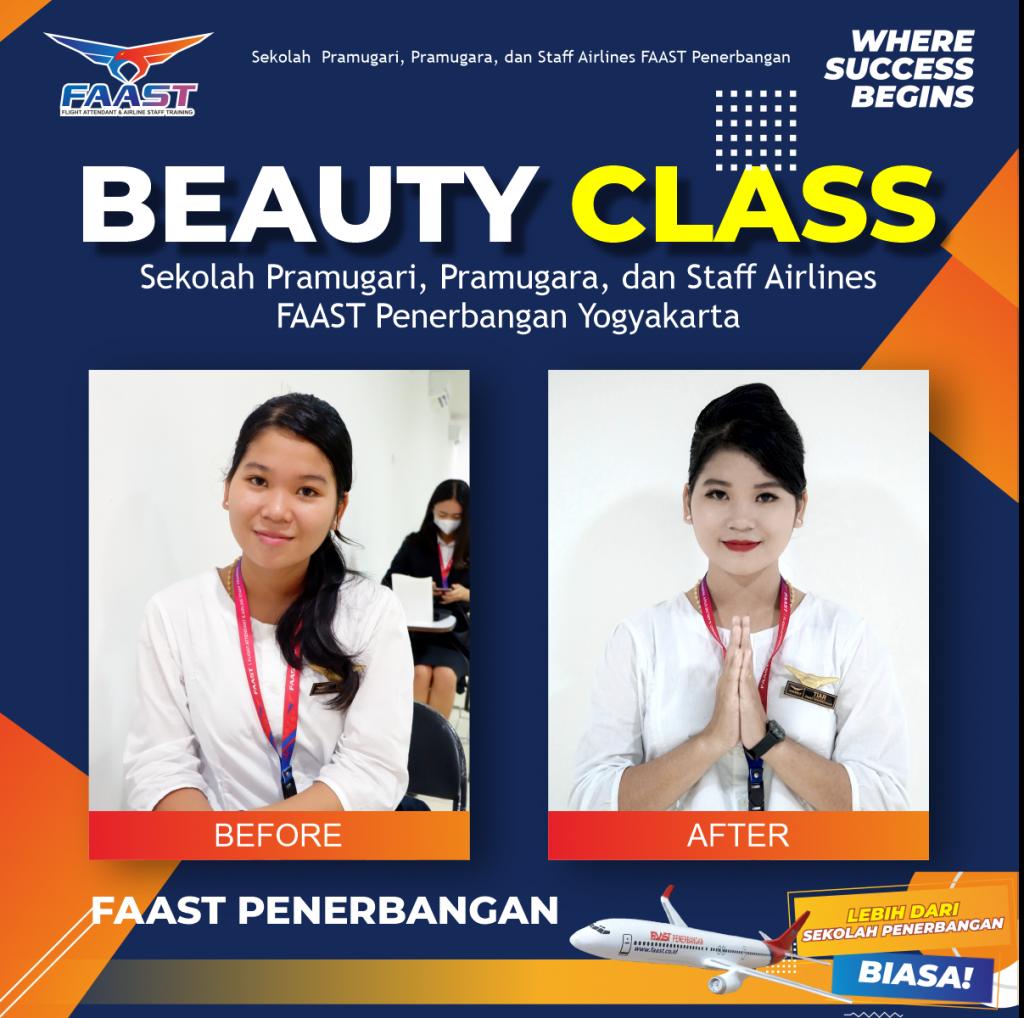 Beauty Class FAAST Penerbangan Yogyakarta