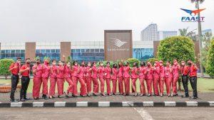 Emergency Drill Sekolah Pramugari FAAST Penerbangan Yogyakarta (22)